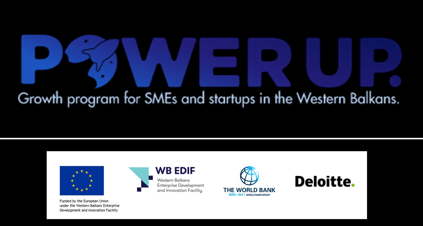 PowerUP – Program for innovative SMEs and startups from the Western Balkans