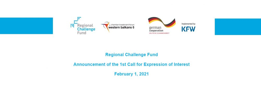 Regional Challenge Fund Announcement of the 1st Call for Expression of Interest
