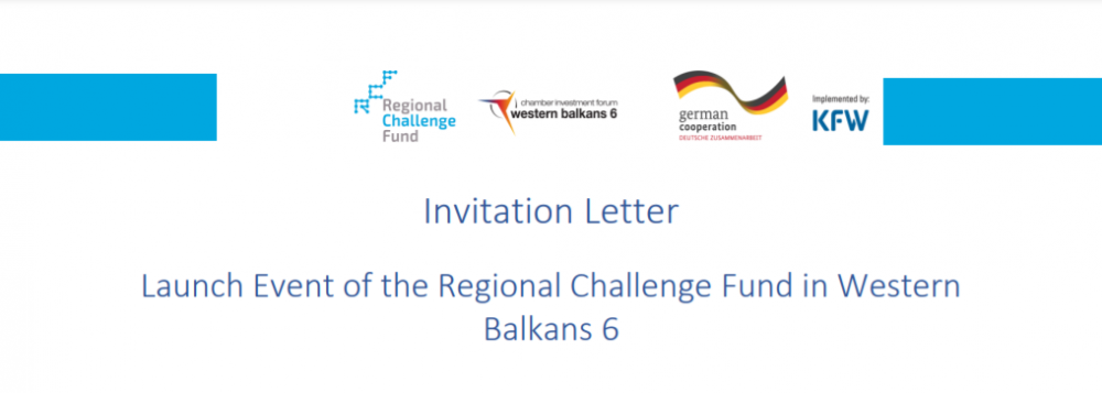 The Regional Challenge Fund is supporting investment projects in the Western Balkan