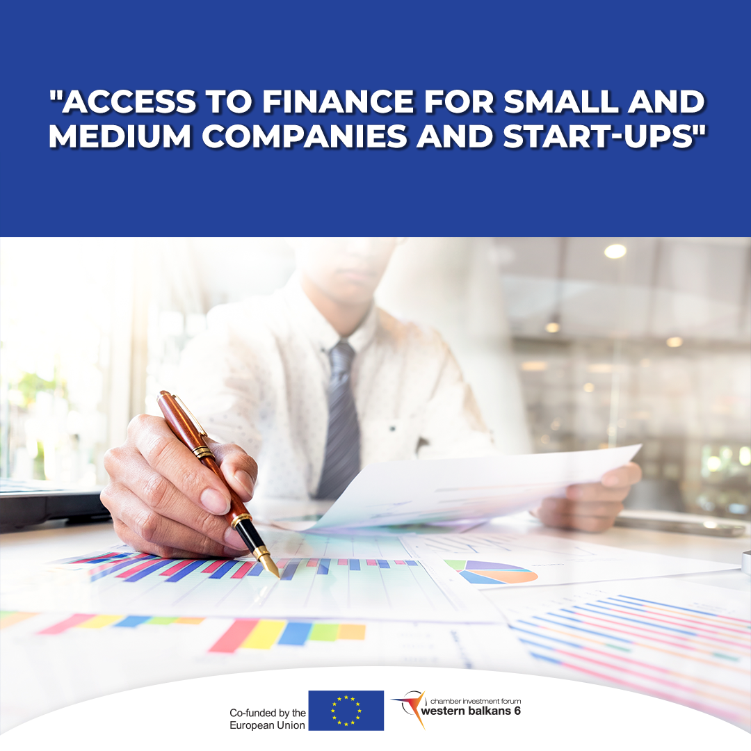 """Online training """"Access to Finance for Small and Medium Companies and Start-ups"""""""