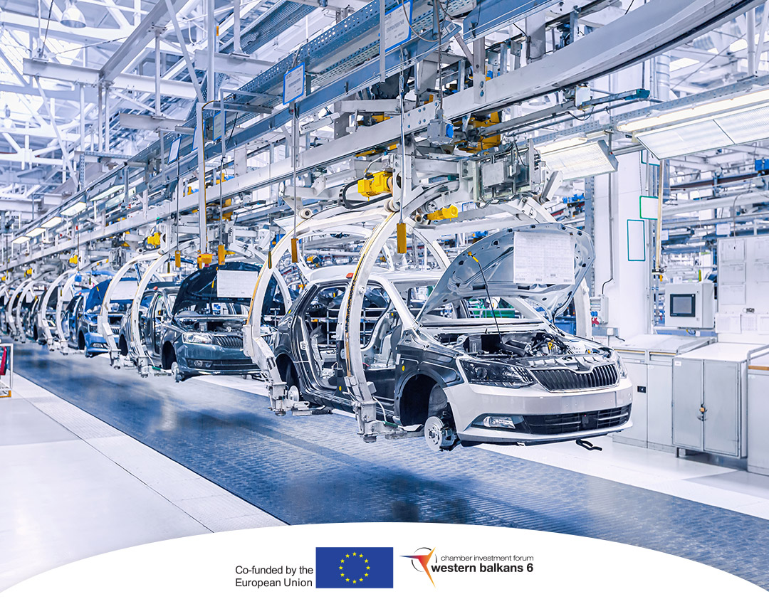 Mapping the supply chain participants from the automotive industry in the WB6 – join now!