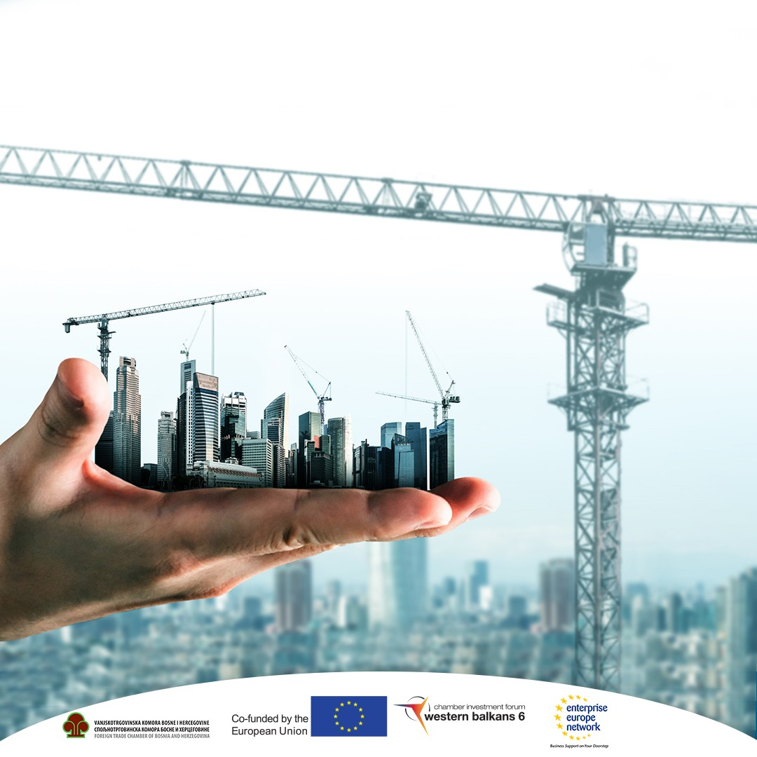 """Invitation to the Conference and online B2B meetings """"Construction and Infrastructure in the Western Balkans 6"""" 15.-16.09.2021"""